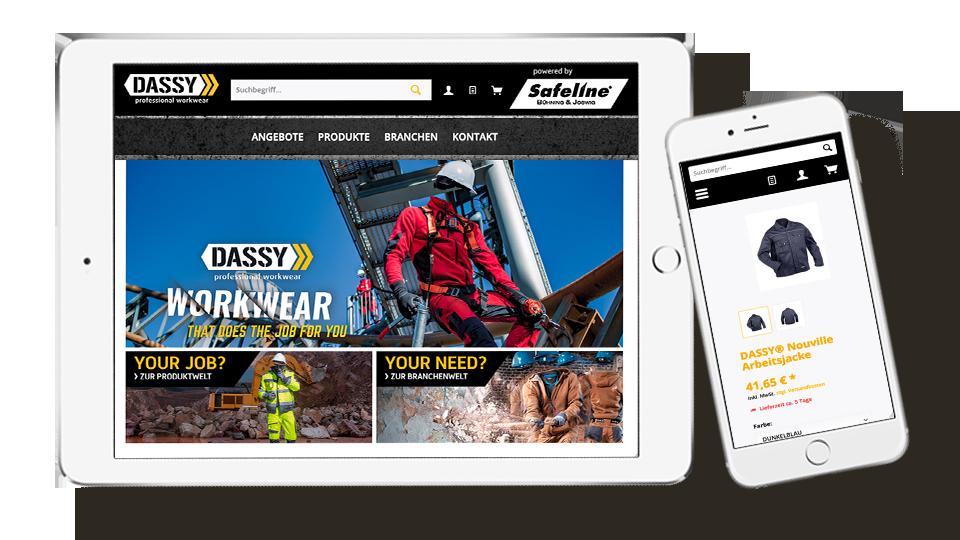 Der Online Shop im Responsive Design
