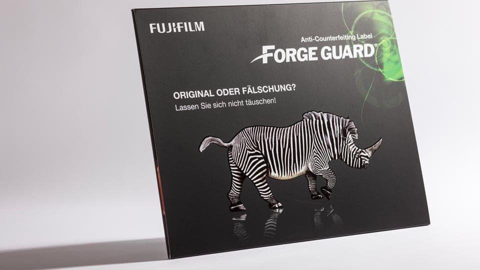 Titelseite des Forge Guard Mailings