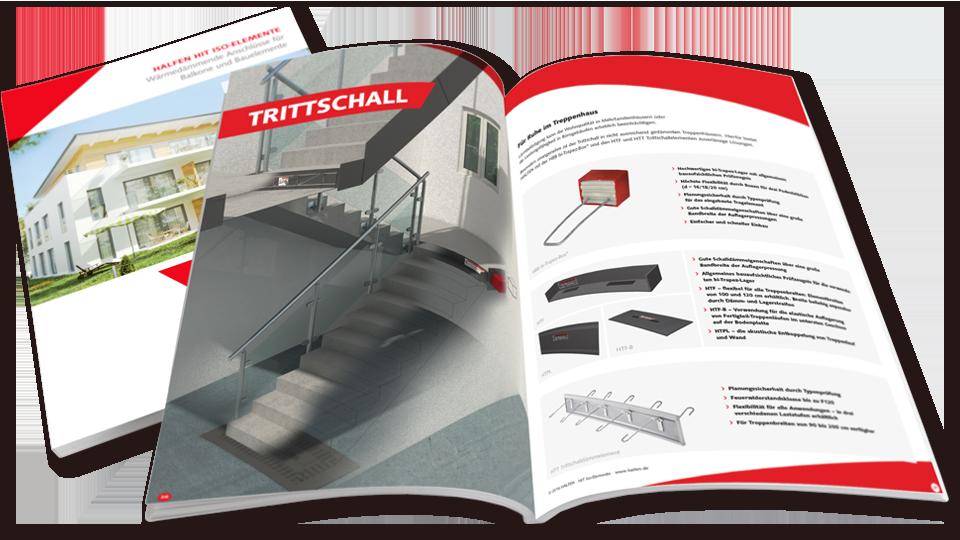 Broschuere im Corporate Design von HALFEN