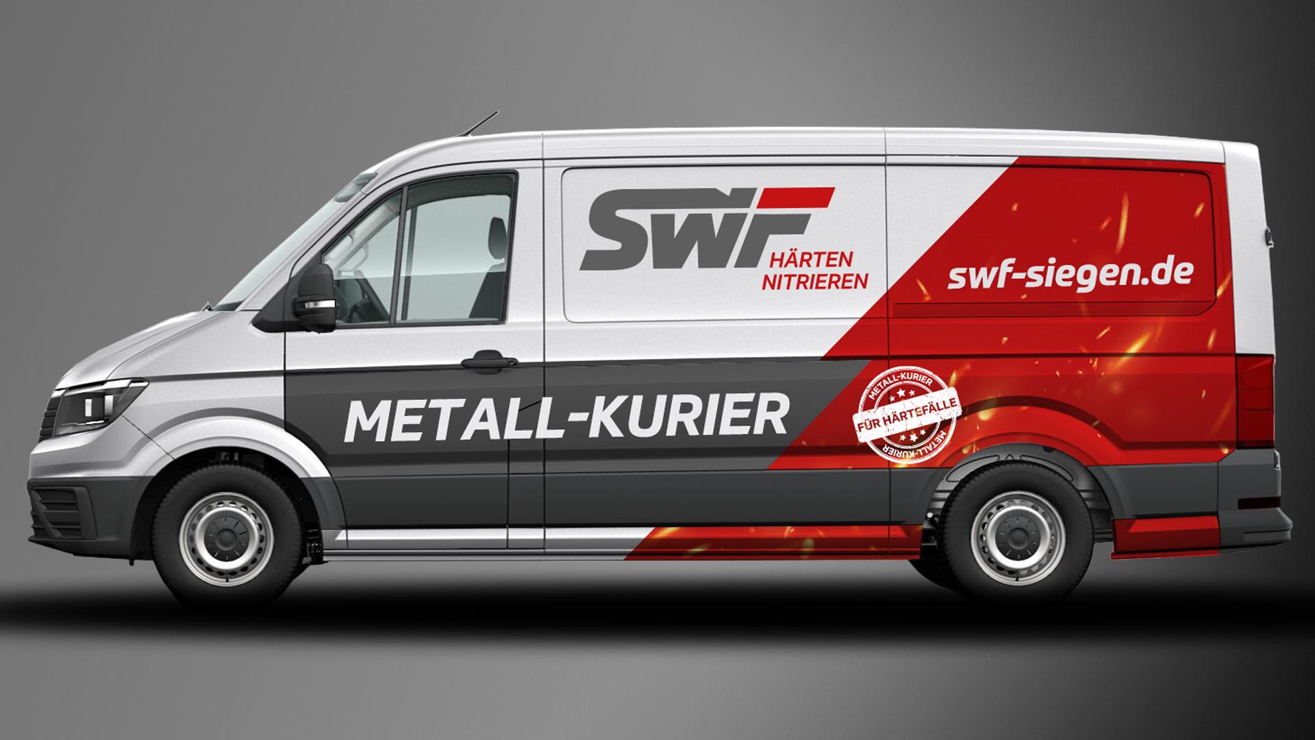 SWF Transporter im neuen Corporate Design