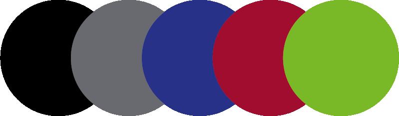 Farbwelt für die Uwe Walter Gruppe