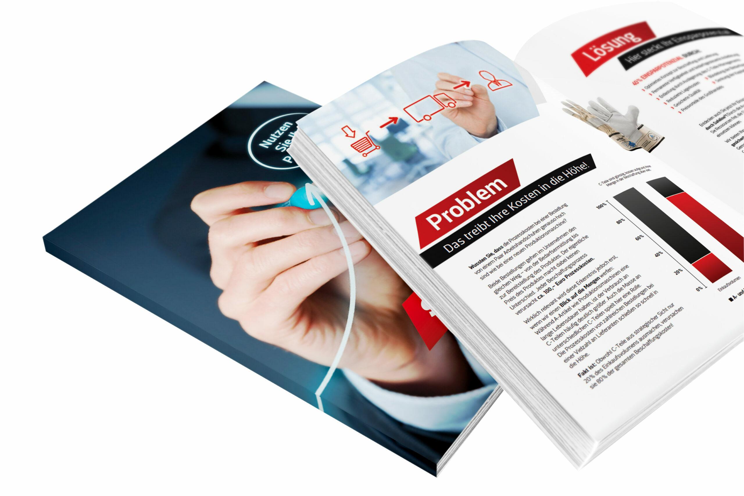Broschüre zum Thema C-Teile-Management